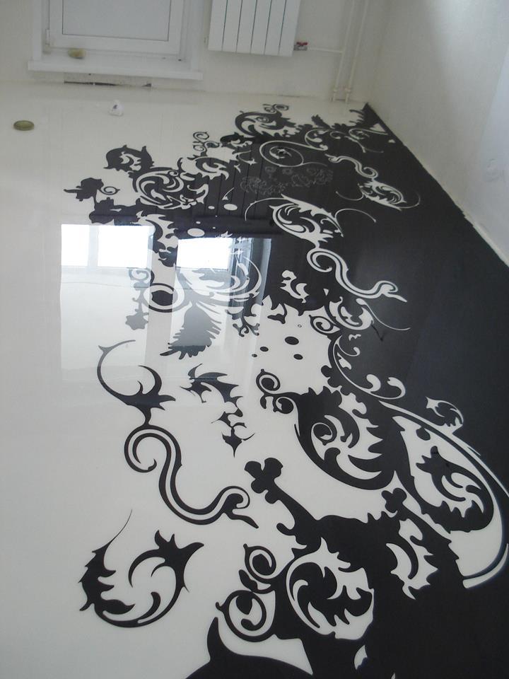 Dekoratif Zemin Kaplama