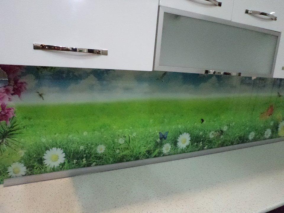 Tezgah Arası Cam Paneller